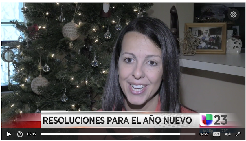 UNIVISION: How to achieve your 2018 Goals – (Spanish Interview)